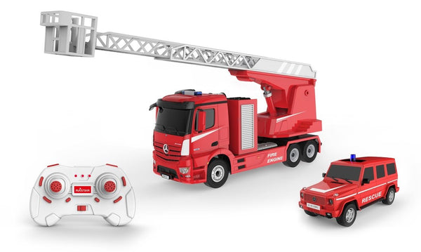 Remote Control Car Mercedes fire truck and rescue car By Rastar