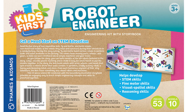 ROBOT ENGINEER Building Blocks by Thames & Kosmos - Bloxx Toys - Toronto Online Toys Store - 2
