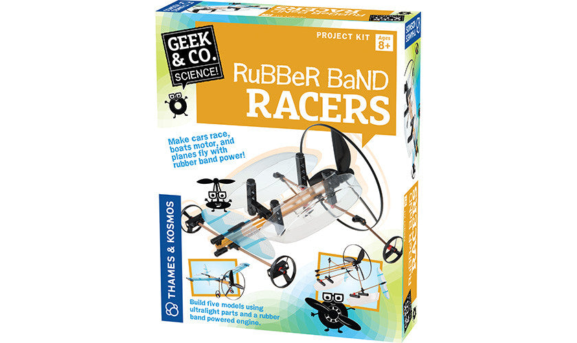 RUBBER BAND RACERS - Bloxx Toys - Toronto Online Toys Store - 1