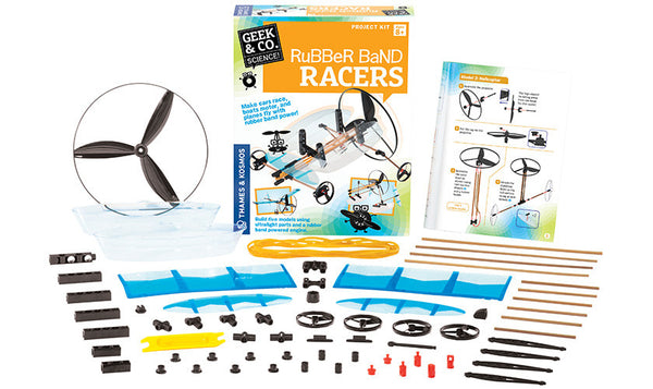 RUBBER BAND RACERS - Bloxx Toys - Toronto Online Toys Store - 2