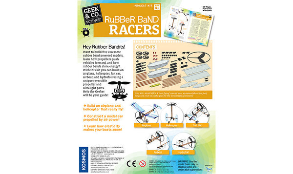RUBBER BAND RACERS - Bloxx Toys - Toronto Online Toys Store - 3