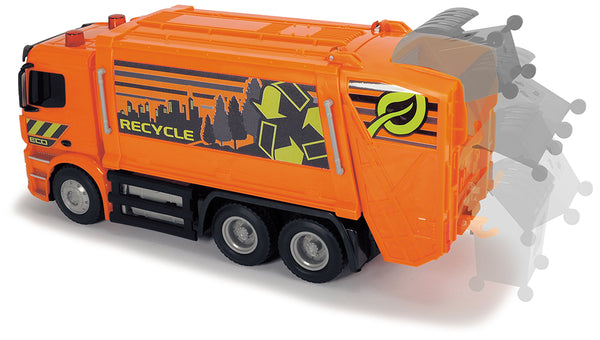 Remote Control Garbage Truck Light and Sound By Dickie