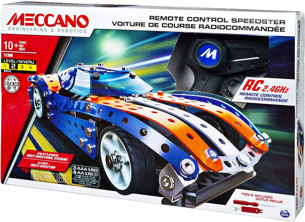 Remote Controlled Car Speedster By Meccano - BloxxToys
