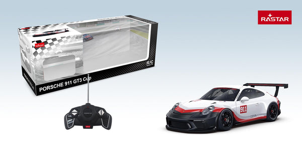 Remote Control RC Car Porsche GT3 Cup By Rastar Montreal