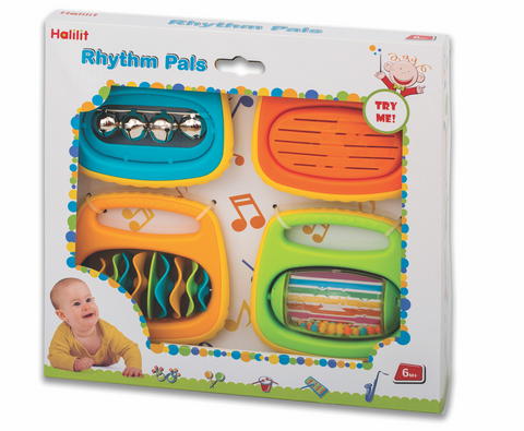 Rhytm Pals Educational Musical Toys Set by By Halilit