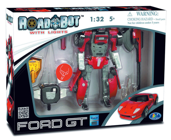 Roadbot Ford GT by Happy Well Bloxx toys, autistic toys, educational toys,transformer toys,car toys,Regina,Toronto,Ottawa,barrie,Vancouver