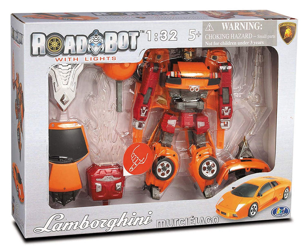 Roadbot Lamborghini Murcielago by Happy Well Bloxx toys, autistic toys, educational toys,transformer toys,car toys,Regina,Toronto,Ottawa,barrie,Vancouver