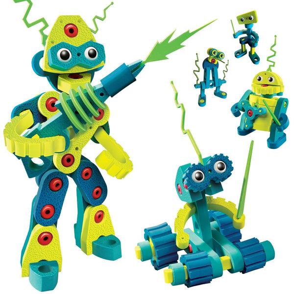 Roboto Invasion Foam Blocks By Bloco - Bloxx Toys - Toronto Online Toys Store - 2