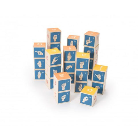 SIGN LANGUAGE BLOCKS - Bloxx Toys - Toronto Online Toys Store - 1