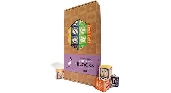Uncle Goose Spanish Language Blocks - Bloxx Toys - Toronto Online Toys Store - 3