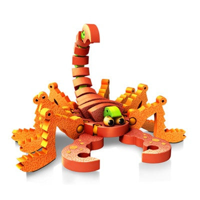 Scorpions & Insects Foam Blocks By Bloco - Bloxx Toys - Toronto Online Toys Store - 3