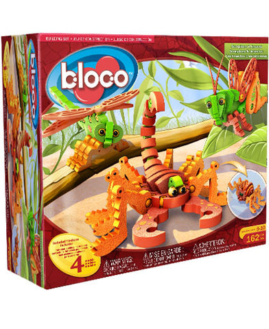 Scorpions & Insects Foam Blocks By Bloco - Bloxx Toys - Toronto Online Toys Store - 1