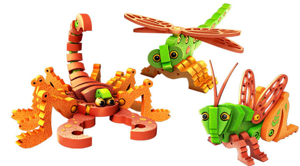Scorpions & Insects Foam Blocks By Bloco - Bloxx Toys - Toronto Online Toys Store - 2