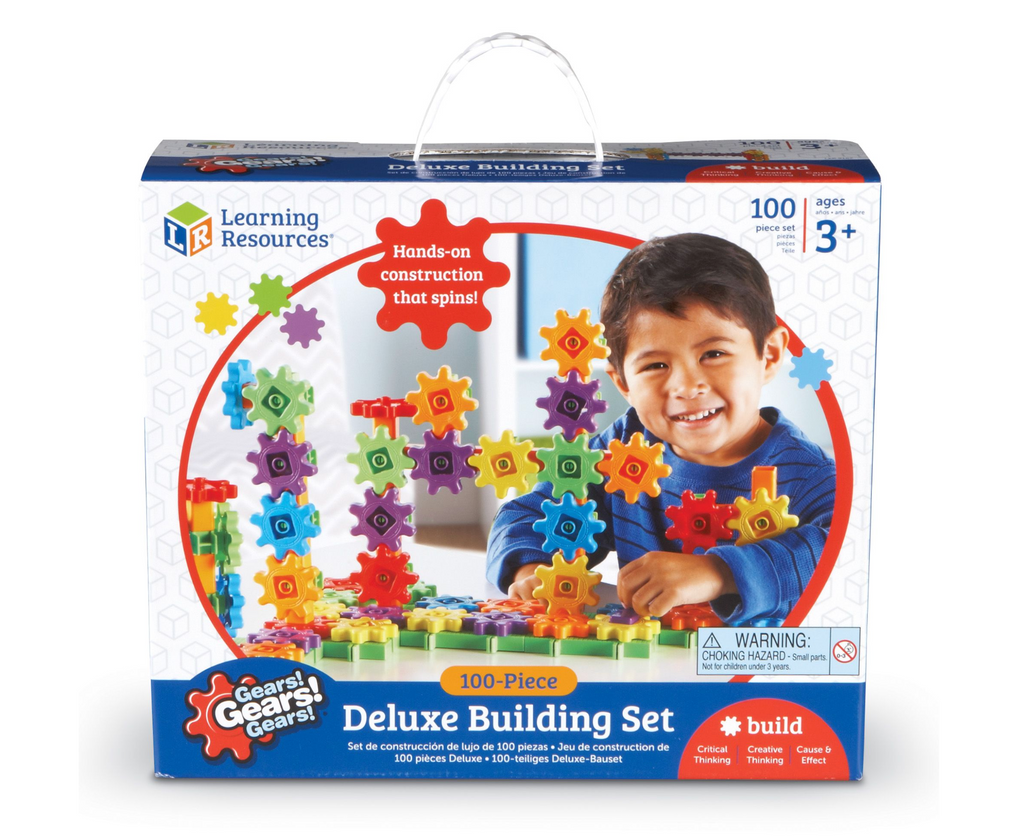 Learning Resources Gears! Gears! Gears!® Deluxe Building Set (Set of 100)