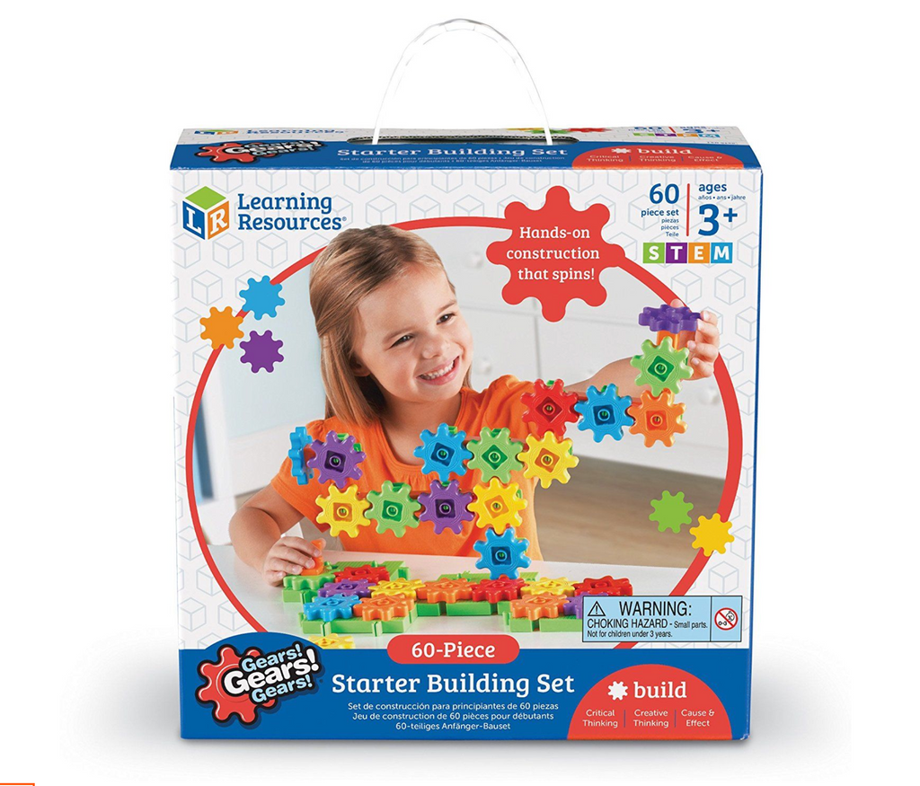 Learning ResourcesGears! Gears! Gears!® Starter Building Set (Set of 60)