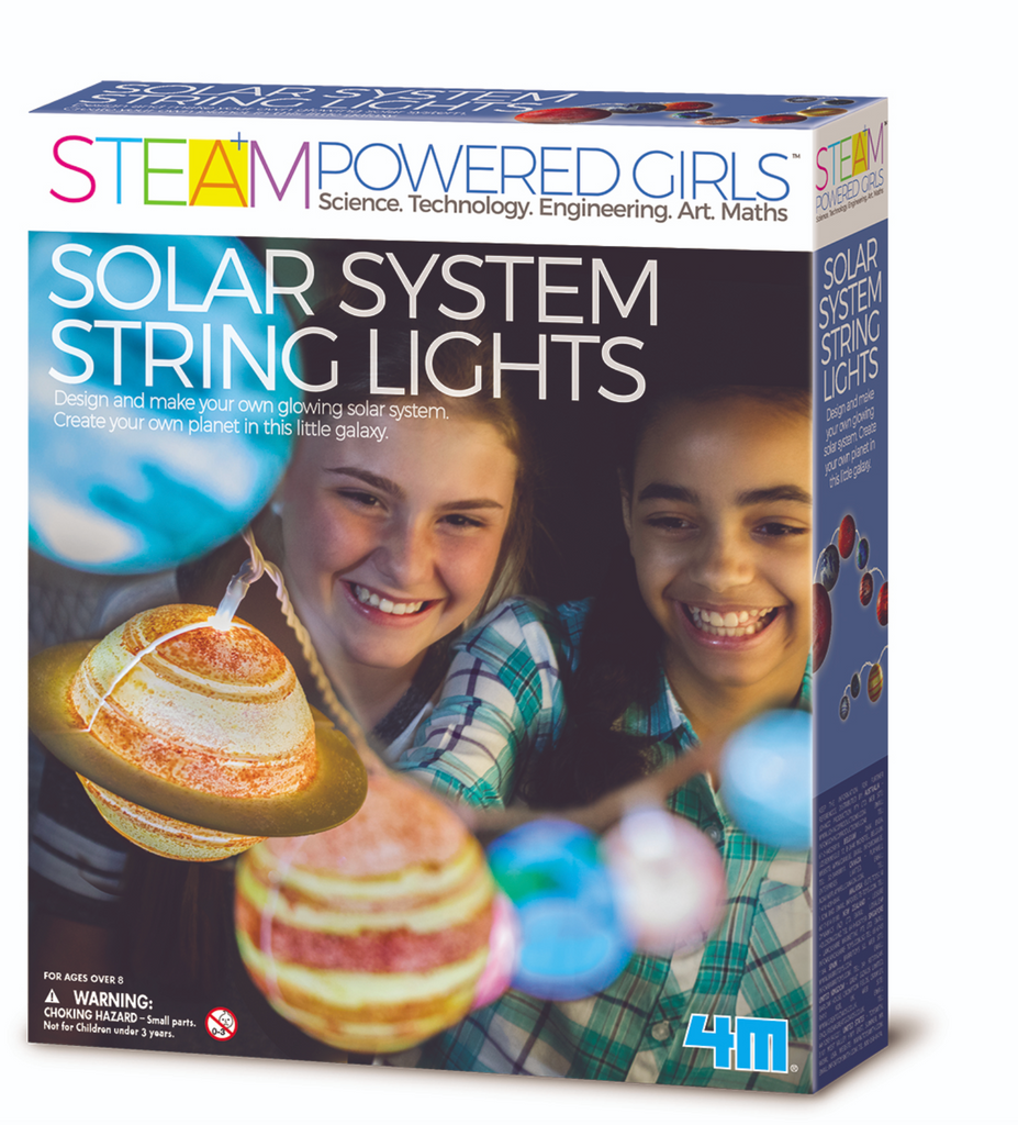 4M STEAM Powered Girls - Solar System String Lights - Toronto, Montreal, Vancouver, Kids, Baby Toys, Shopping online, Ontario, Quebec, - Educational Online Toys Store Canada