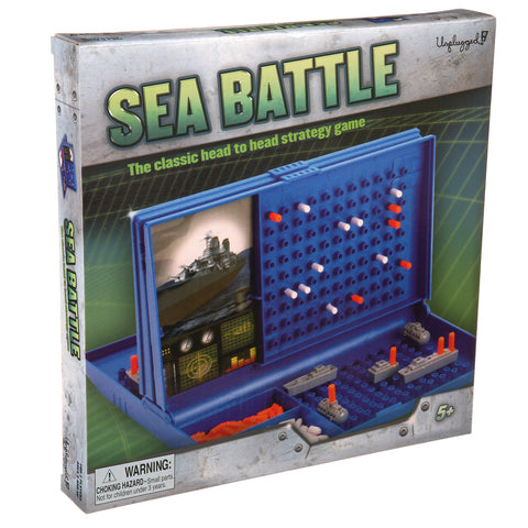 Sea Battle Board Game By Pressman  BloxxToys Canada