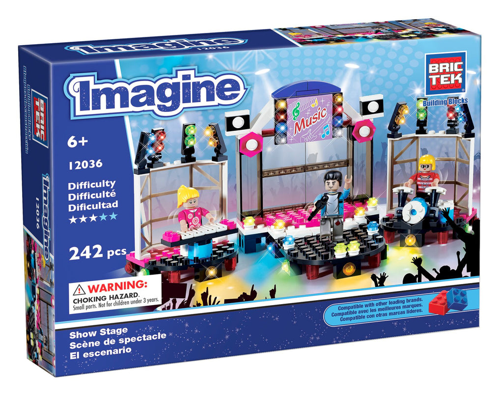 Show Stage by BricTek - Bloxx Toys - Toronto Online Toys Store - 1