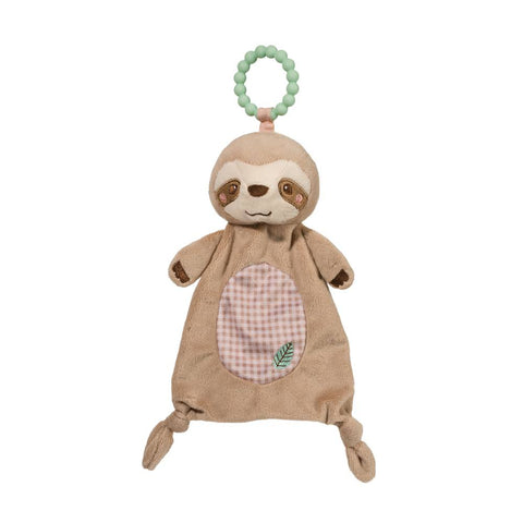 Sloth Soft Toy Teether by Douglas kid friendly,Educational toy