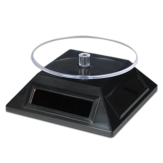 Solar Powered Spinning Base for 3D Metal Model - Bloxx Toys - Toronto Online Toys Store - 1