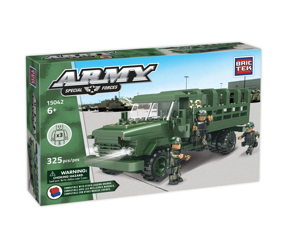 Soldier Carrier Army By Brictek - Bloxx Toys - Toronto - Educational Online Toys Store Canada