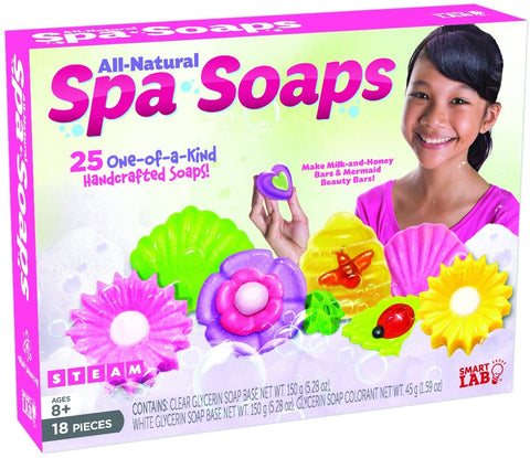 Spa Soaps All-Natural By Smart Lab - Bloxx Toys-Toronto,,AutismToys Montreal toys, Alberta toys, Ontario toys, Quebec toys, Children Toys,Kids Toys,Educational toys Online Toys Store Canada