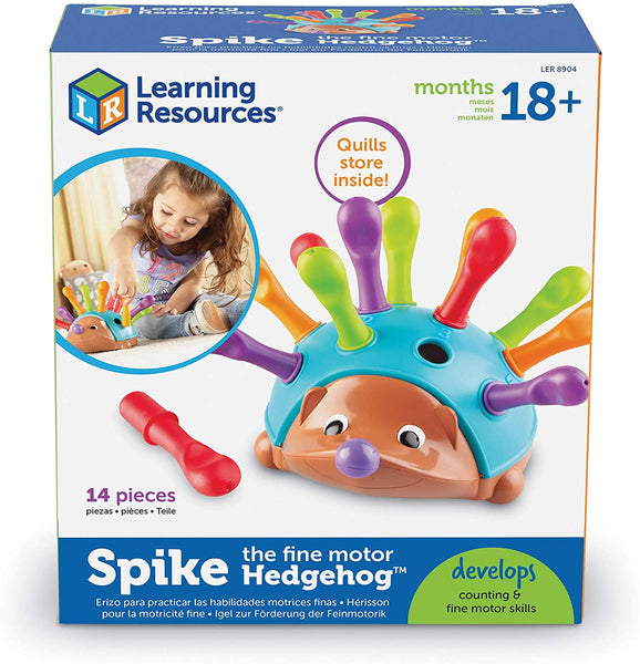 Spike The Fine-Motor Hedgehog By Learning Resources -Bloxx Toys-Toronto toys, toy,Autism Toys, Ontario toys, Quebec toys, Children Toys,Kids Toys,Educational toys Online Toys Store Canada