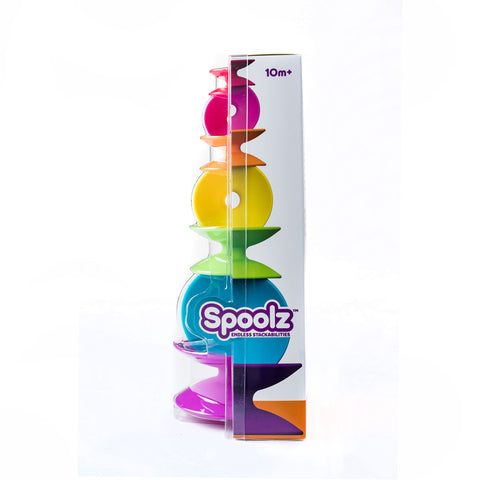 Spoolz stacking toy by Fat Brain Toys Co.®