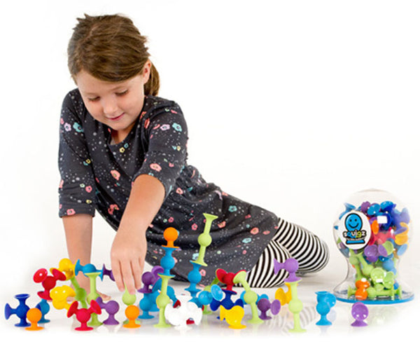 Squigz - Deluxe Set By Fat Brain Toys - Bloxx Toys - Toronto - Educational Online Toys Store Canada