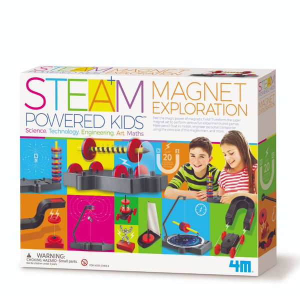 Steam Kids - Magnet Science By 4M - Bloxx Toys - Toronto, Montreal, Vancouver, Alberta, Edmonton, Kids, Parents, Present, Shopping online, Ontario, Quebec, - Educational Online Toys Store Canada