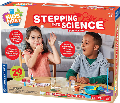 Stepping Into Science By Thames & Kosmos - Bloxx Toys - Toronto - Educational Online Toys Store, Science Kit, Canada