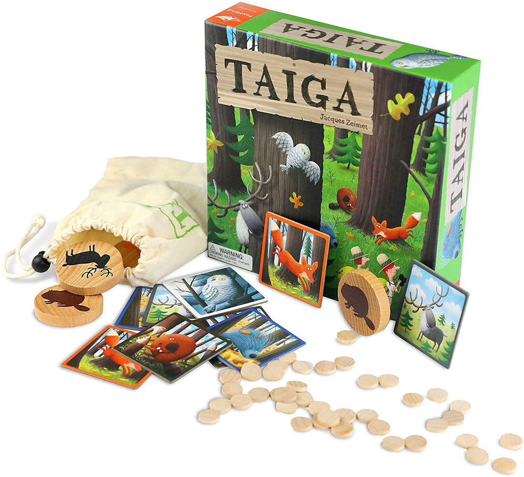 Taiga Fun Memory & Deduction Game By Foxmind  BloxxToys