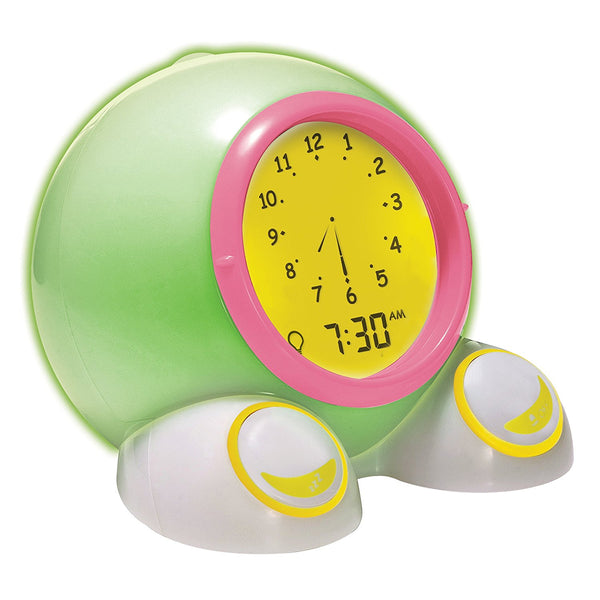 Teach Me Time - Talking Alarm Clock and Nightlight By Onaroo - Bloxx Toys - Toronto - Educational Online Toys Store Canada