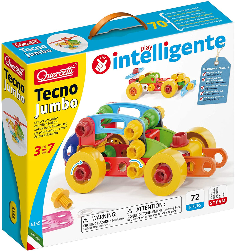 Tecno Vehicle Set By Quercetti | Toys Canada | Taxes Included