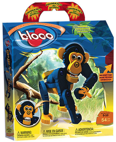 The Chimpanzee Foam Blocks By Bloco - Bloxx Toys - Toronto Online Toys Store - 1