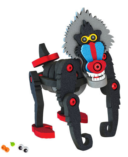 The Mandrill Foam Blocks By Bloco - Bloxx Toys - Toronto Online Toys Store - 2
