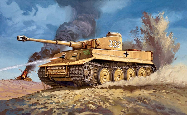 Tiger 1 Plastic Model Kit By Airfix - Bloxx Toys - Toronto, Montreal, Vancouver, Kids, Parents, Present, Shopping online, Ontario, Quebec, - Educational Online Toys Store Canada