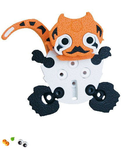 Tiger & Panda Foam Blocks By Bloco - Bloxx Toys - Toronto Online Toys Store - 5