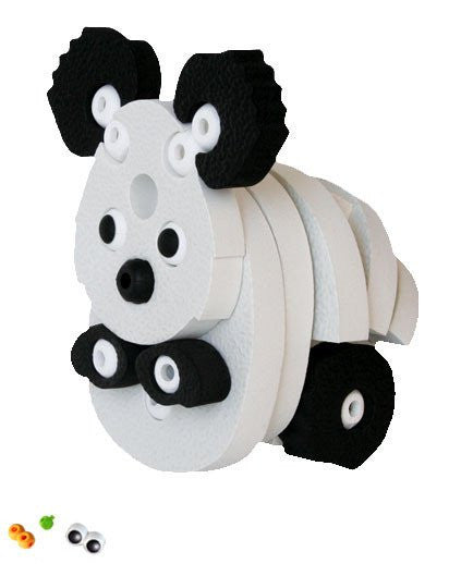 Tiger & Panda Foam Blocks By Bloco - Bloxx Toys - Toronto Online Toys Store - 3