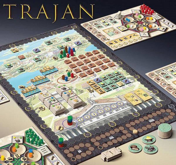 Trajan Roman Strategy Game By Foxmind  Board Game
