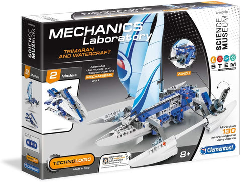 Trimaran Mechanics Laboratory By Clementoni - BloxxToys