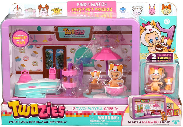 Twozies Season one Two Playful Cafe Playset