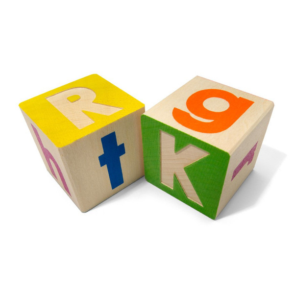 Uncle Goose Upper and Lower Case ABC Blocks - Bloxx Toys - Toronto Online Toys Store - 2