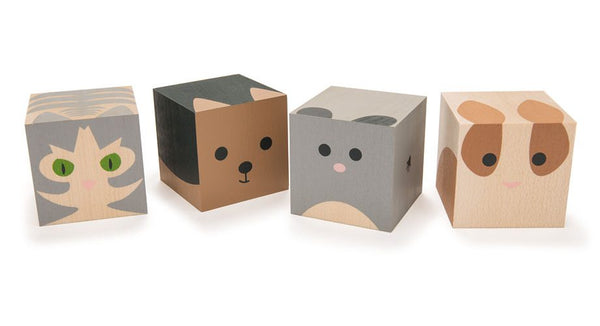 Uncle Goose Cubelings Pets Building Character Blocks