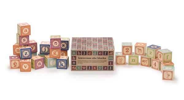 Uncle Goose Classic Lower Case ABC Blocks - Bloxx Toys - Toronto Online Toys Store - 2