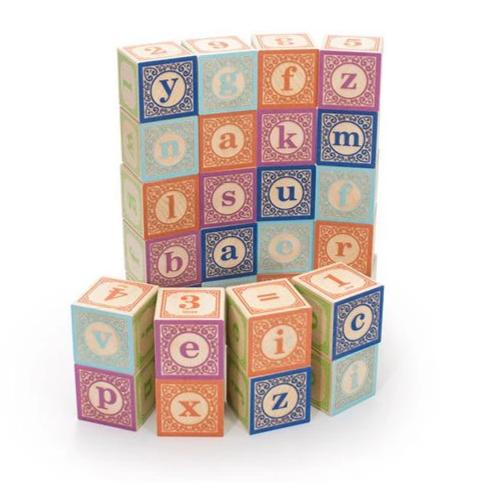 Uncle Goose Classic Lower Case ABC Blocks - Bloxx Toys - Toronto Online Toys Store - 1