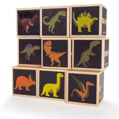 Dinosaur Blocks By Uncle Goose