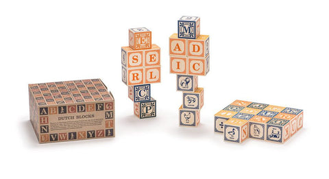 Uncle Goose Dutch Language Blocks - Bloxx Toys - Toronto Online Toys Store - Canada