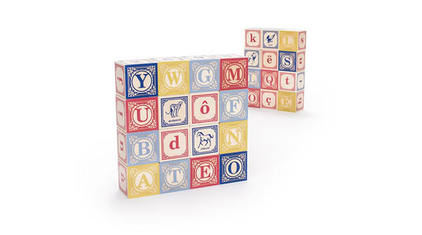 Uncle Goose French ABC  Language Blocks - Bloxx Toys - Toronto Online Toys Store - Canada