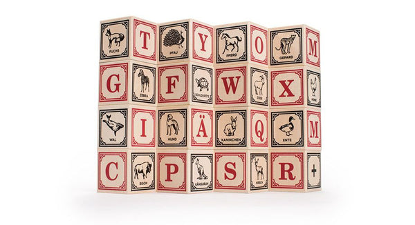 Uncle Goose German Language Blocks - Bloxx Toys - Toronto Online Toys Store - Canada